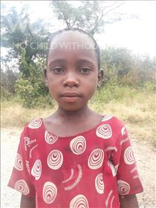 Choose a child to sponsor, like this little Girl from Kilimatinde, Lucia Nkinda age 6