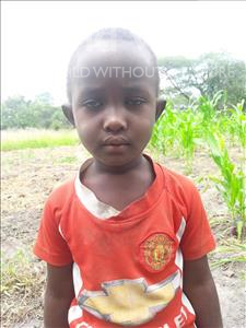 Maria Samwell, aged 4, from Tanzania, is hoping for a World Vision sponsor