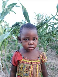Choose a child to sponsor, like this little girl from Kilimatinde, Rose Ernest age 2