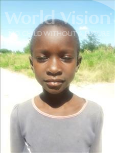 Elizabeth Christopher, aged 8, from Tanzania, is hoping for a World Vision sponsor
