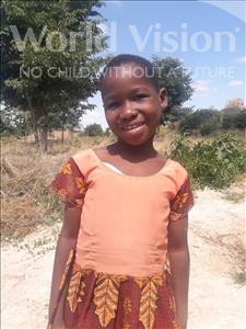 Choose a child to sponsor, like this little girl from Kilimatinde, Emmy Costantino age 9