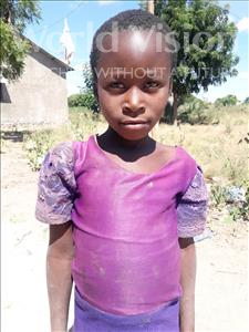 Choose a child to sponsor, like this little girl from Kilimatinde, Lucia Samweli age 6