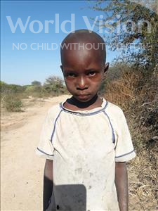 Anastazia Alfonce, aged 5, from Tanzania, is hoping for a World Vision sponsor