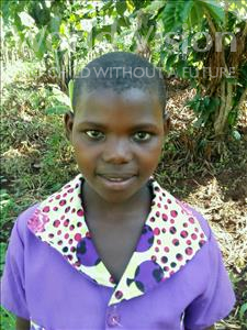 Choose a child to sponsor, like this little girl from Kibiga-Mulagi (Kimu), Bebiina age 9