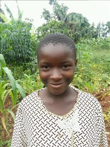 Choose a child to sponsor, like this little girl from Kibiga-Mulagi, Oliver age 12