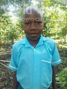 Choose a child to sponsor, like this little boy from Kibiga-Mulagi, Erinest age 8