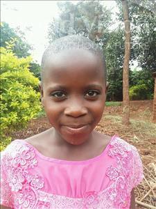 Choose a child to sponsor, like this little girl from Kibiga-Mulagi, Eseza age 8