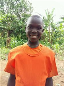 Choose a child to sponsor, like this little girl from Kibiga-Mulagi, Annet age 10
