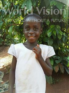 Choose a child to sponsor, like this little girl from Kibiga-Mulagi (Kimu), Lilian age 7