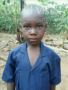 Choose a child to sponsor, like this little boy from Kibiga-Mulagi, Yonasan age 6