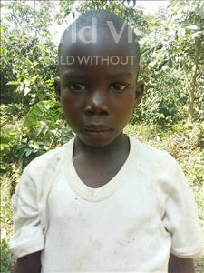 Choose a child to sponsor, like this little boy from Kibiga-Mulagi, Dan age 8