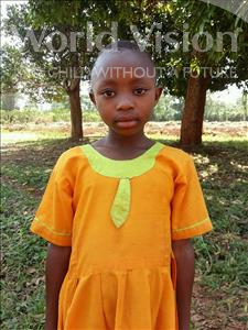 Choose a child to sponsor, like this little girl from Kibiga-Mulagi, Deborah age 8