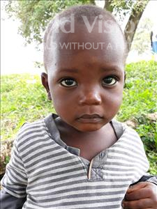 Choose a child to sponsor, like this little boy from Busitema, Simon age 2