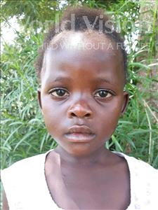 Choose a child to sponsor, like this little girl from Busitema, Ebillion Paul age 4