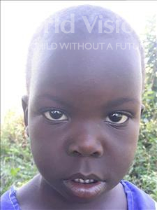 Choose a child to sponsor, like this little girl from Busitema, Jane age 4
