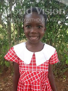 Choose a child to sponsor, like this little girl from Busitema, Kanifa age 6
