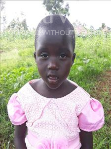 Choose a child to sponsor, like this little girl from Busitema, Beatrice age 3