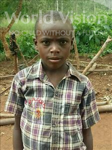 Choose a child to sponsor, like this little boy from Ntwetwe, Moses age 10