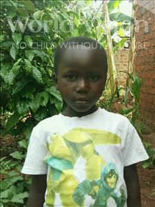 Joyce, aged 4, from Uganda, is hoping for a World Vision sponsor