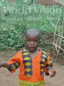 Choose a child to sponsor, like this little boy from Ntwetwe, Boaz age 3