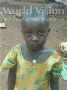 Choose a child to sponsor, like this little girl from Ntwetwe, Dezi age 4