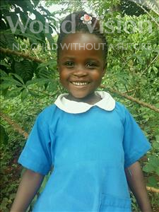 Choose a child to sponsor, like this little girl from Ntwetwe, Elizabeth age 5