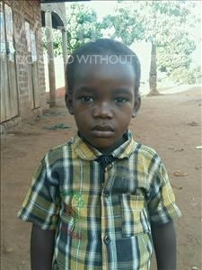 Choose a child to sponsor, like this little boy from Ntwetwe, Charles age 3