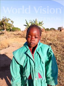 Choose a child to sponsor, like this little girl from Keembe, Sara age 6