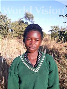 Ruth, aged 10, from Zambia, is hoping for a World Vision sponsor