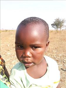 Choose a child to sponsor, like this little boy from Keembe, Fenwick age 3