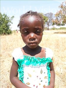 Choose a child to sponsor, like this little girl from Keembe, Nchimunya age 4
