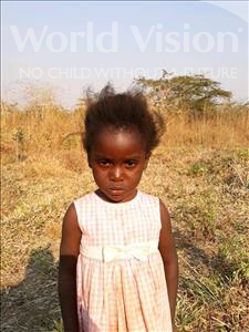 Choose a child to sponsor, like this little girl from Keembe, Josephine age 5