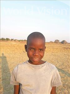 Choose a child to sponsor, like this little boy from Keembe, Latson age 9
