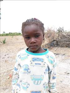Audrey, aged 5, from Zambia, is hoping for a World Vision sponsor