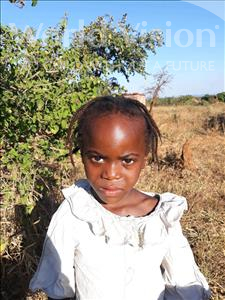 Choose a child to sponsor, like this little girl from Keembe, Rozy age 5