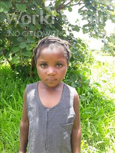 Choose a child to sponsor, like this little girl from Keembe, Chileleko age 6