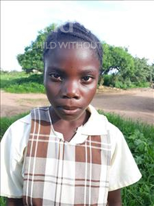Choose a child to sponsor, like this little girl from Keembe, Hilda age 10