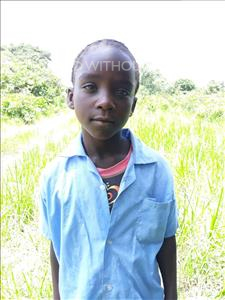 Choose a child to sponsor, like this little girl from Keembe, Magret age 6