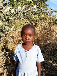 Choose a child to sponsor, like this little girl from Keembe, Muchimwa age 4