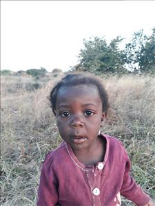 Choose a child to sponsor, like this little girl from Keembe, Mwabunga age 2