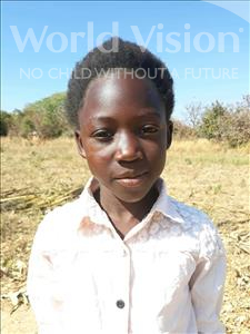 Choose a child to sponsor, like this little girl from Keembe, Margret age 7