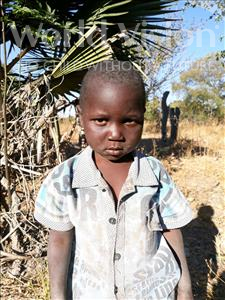 Choose a child to sponsor, like this little boy from Keembe, Stewart age 3