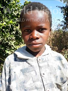 Choose a child to sponsor, like this little boy from Keembe, Promise age 9