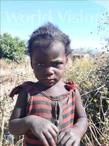 Choose a child to sponsor, like this little girl from Keembe, Catherine age 2