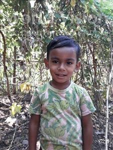 Choose a child to sponsor, like this little boy from Ghoraghat, Asfik Yamin age 3