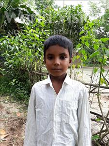 Choose a child to sponsor, like this little boy from Ghoraghat, Sohag age 6