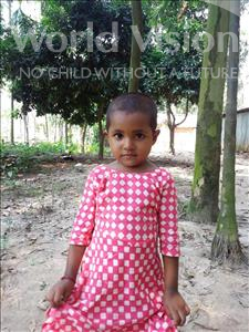 Choose a child to sponsor, like this little girl from Ghoraghat, Ruchi Rani age 3