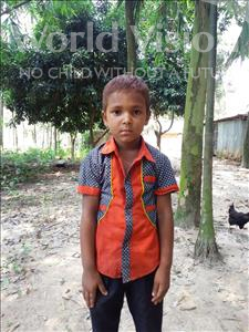 Choose a child to sponsor, like this little boy from Ghoraghat, Shamim age 6