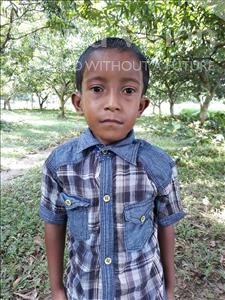 Choose a child to sponsor, like this little boy from Ghoraghat, Ashikur age 6