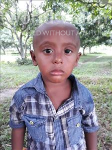 Choose a child to sponsor, like this little boy from Ghoraghat, Jisan age 3